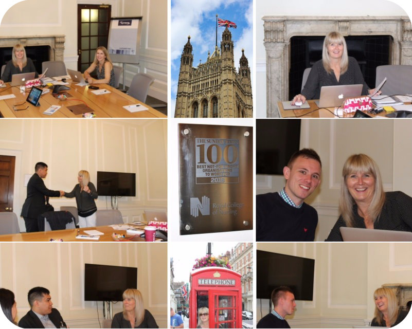 Day 1: London RN Interviews for Direct-Hire Positions in the US