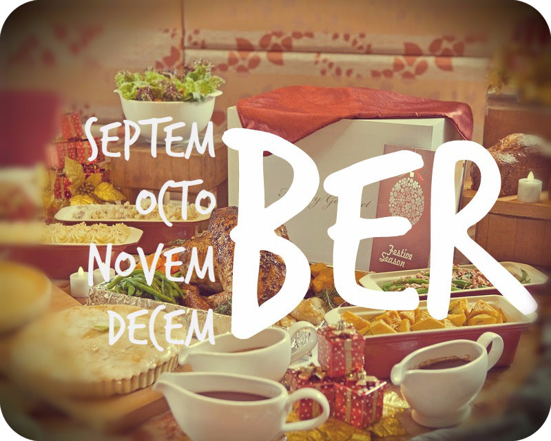 "It's Officially the Start of the ""Ber"" Months in the Philippines!"