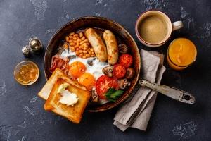 British fry-up