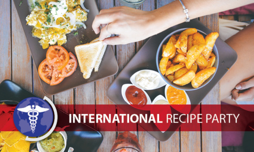 April International Recipe Party