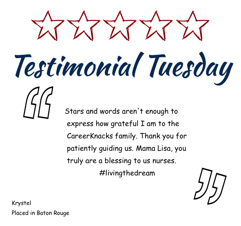 Krystal's Testimonial Tuesday